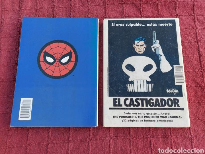 Cómics: COMIC LOS VENGADORES LOTE DE DOS RETAPADOS/SUPER HEROES COMICS FORUM/THANOS/HULK/CAPITÁN AMÉRICA - Foto 4 - 226018505