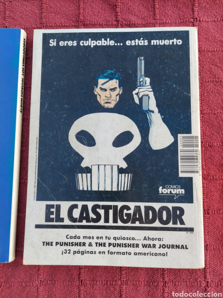 Cómics: COMIC LOS VENGADORES LOTE DE DOS RETAPADOS/SUPER HEROES COMICS FORUM/THANOS/HULK/CAPITÁN AMÉRICA - Foto 5 - 226018505