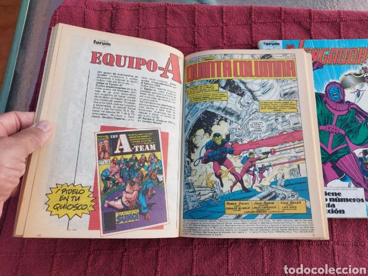Cómics: COMIC LOS VENGADORES LOTE DE DOS RETAPADOS/SUPER HEROES COMICS FORUM/THANOS/HULK/CAPITÁN AMÉRICA - Foto 8 - 226018505