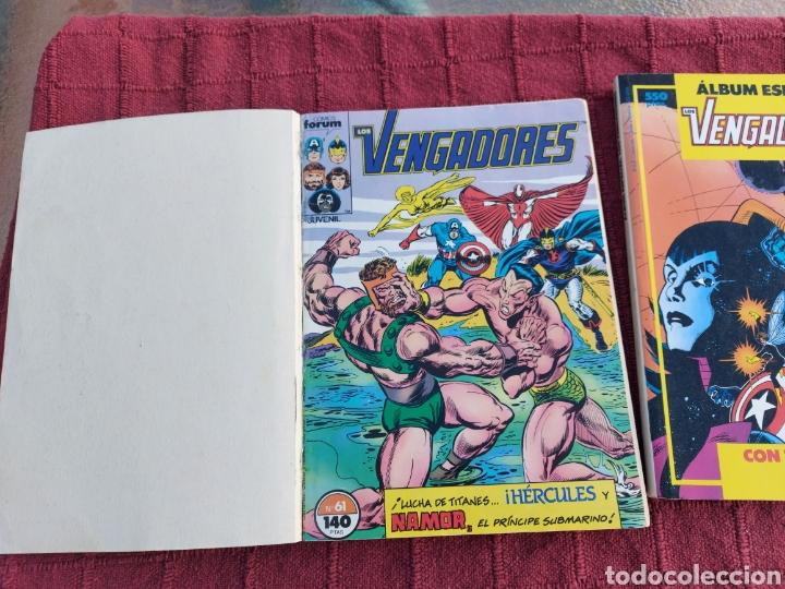 Cómics: COMIC LOS VENGADORES LOTE DE DOS RETAPADOS/SUPER HEROES COMICS FORUM/THANOS/HULK/CAPITÁN AMÉRICA - Foto 11 - 226018505