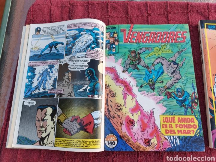 Cómics: COMIC LOS VENGADORES LOTE DE DOS RETAPADOS/SUPER HEROES COMICS FORUM/THANOS/HULK/CAPITÁN AMÉRICA - Foto 12 - 226018505