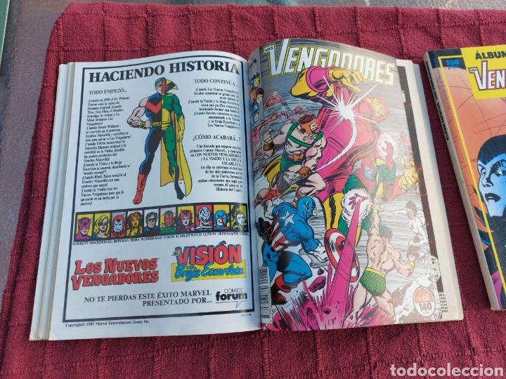 Cómics: COMIC LOS VENGADORES LOTE DE DOS RETAPADOS/SUPER HEROES COMICS FORUM/THANOS/HULK/CAPITÁN AMÉRICA - Foto 15 - 226018505