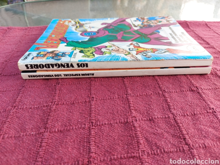 Cómics: COMIC LOS VENGADORES LOTE DE DOS RETAPADOS/SUPER HEROES COMICS FORUM/THANOS/HULK/CAPITÁN AMÉRICA - Foto 18 - 226018505