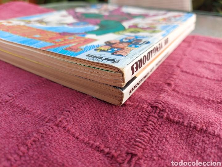 Cómics: COMIC LOS VENGADORES LOTE DE DOS RETAPADOS/SUPER HEROES COMICS FORUM/THANOS/HULK/CAPITÁN AMÉRICA - Foto 23 - 226018505