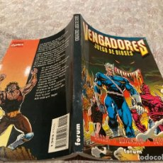 Cómics: VENGADORES - JUEGO DE DIOSES - FORUM - TOMO ÚNICO - HARRAS - KAVANAGH - DEODATO - MUY BUEN ESTADO. Lote 226234750