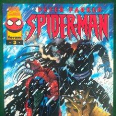 Cómics: PETER PARKER: SPIDERMAN Nº 3 ANSIAS DESPIADADAS / FORUM PLANETA 1997 COMIC-130 , BUEN ESTADO. Lote 226240065