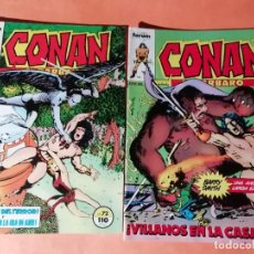 Cómics: CONAN EL BARBARO . Nº 72 Y 73 FORUM .. Lote 226348796