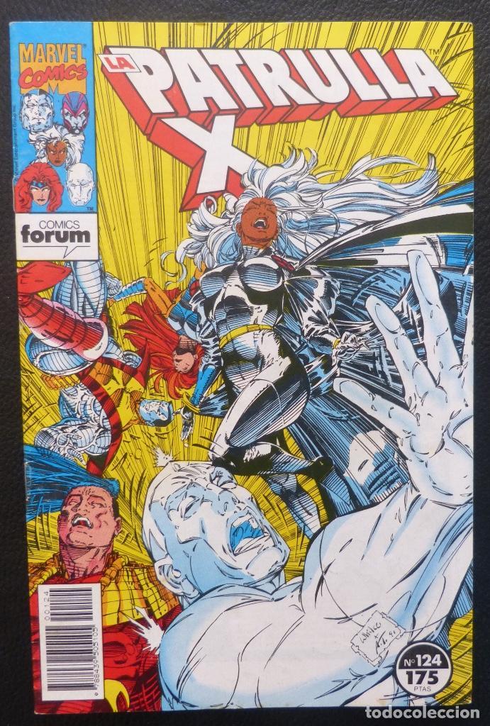 COMIC PATRULLA X,MARVEL COMICS,FORUM, Nº 124,AÑO 1992, (Tebeos y Comics - Forum - Patrulla X)