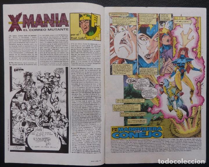 Cómics: Comic Patrulla X,Marvel Comics,Forum, Nº 124,Año 1992, - Foto 3 - 226656275