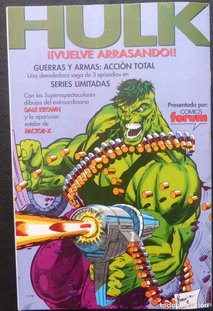 Cómics: Comic Patrulla X,Marvel Comics,Forum, Nº 124,Año 1992, - Foto 6 - 226656275