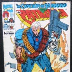 Cómics: COMIC PATRULLA X,Nº 133,1993,MARVEL COMICS,LA CANCION DEL VERDUGO,PARTE 1. Lote 226666889