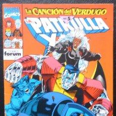 Cómics: COMIC PATRULLA X,Nº 134,1993,MARVEL COMICS,FORUM, PARTE 5. Lote 226668550