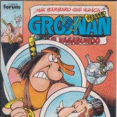 "Cómics: COMIC "" GROONAN Nº 5 ED. PLANETA / FORUM. Lote 226688440"