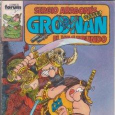 "Cómics: COMIC "" GROONAN Nº 6 ED. PLANETA / FORUM. Lote 226688625"