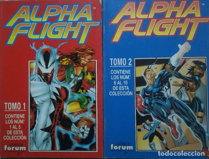 ALPHA FLIGHT VOL 2 DEL 1 AL 10 (Tebeos y Comics - Forum - Alpha Flight)