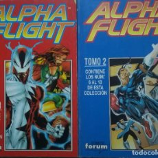 Cómics: ALPHA FLIGHT VOL 2 DEL 1 AL 10. Lote 226754459