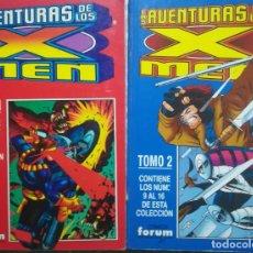 Cómics: LAS AVENTURAS DE LOS X MEN RETAPADO COMPLEA. Lote 226757065