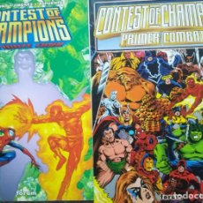 Cómics: CONTEST OF CHAMPIONS PRIMER COMBATE Y FINAL. Lote 226759535