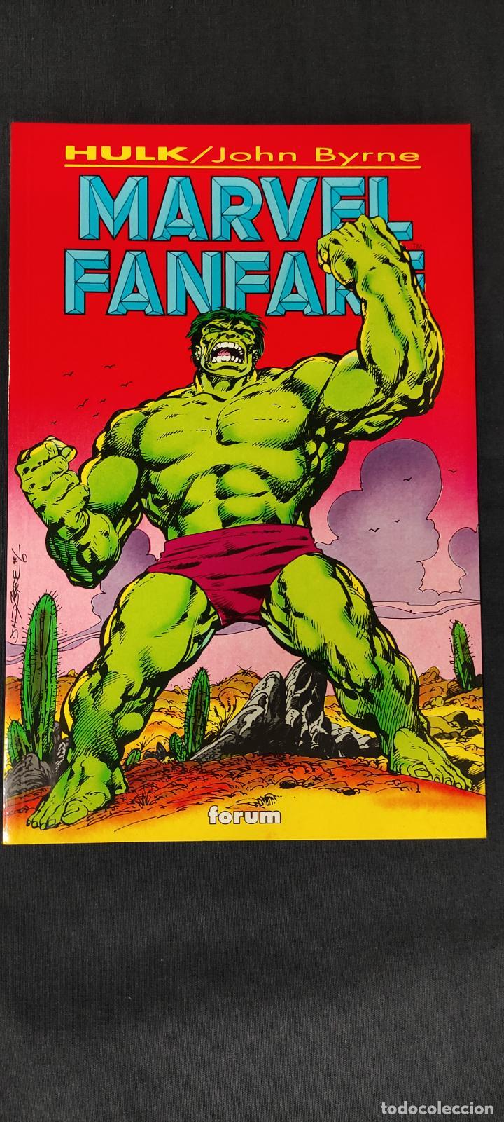 HULK - MARVEL FANFARE - FORUM - (Tebeos y Comics - Forum - Hulk)