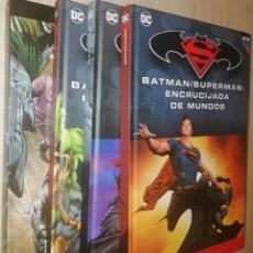 Cómics: BATMAN Y SUPERMAN: 2 TOMOS. Lote 226923755