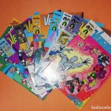 Cómics: LOS VENGADORES. LOTE DE 8 NUMEROS. DEL 80 AL 87 . FORUM.. Lote 226989345