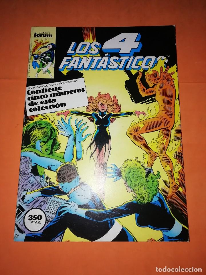 LOS 4 FANTASTICOS. JOHN BYRNE. RETAPADO. Nº 56 AL 60. FORUM. (Tebeos y Comics - Forum - 4 Fantásticos)
