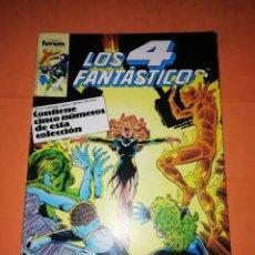 Cómics: LOS 4 FANTASTICOS. JOHN BYRNE. RETAPADO. Nº 56 AL 60. FORUM.. Lote 227126135