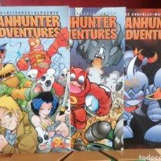 Cómics: FANHUNTER ADVENTURES. ROKE; OLIVARES; ALPUENTE. FORUM. VOLS 1, 2 Y 3.. Lote 227139740