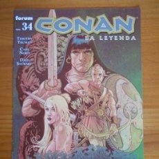 Comics : CONAN LA LEYENDA Nº 34 - FORUM (Z). Lote 227154540