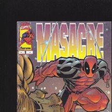 Cómics: MASACRE - VOL.3 - Nº 1 - OCTUBRE 1997 - FORUM -. Lote 227476920
