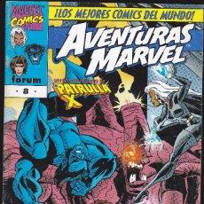 Cómics: AVENTURAS MARVEL - VOL.1 - Nº 8 - PATRULLA X - AGOSTO 1998 - FORUM -. Lote 227478180