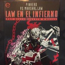 Fumetti: LAW EN EL INFIERNO : PINHEAD VS MARSHALL LAW COLECCIÓN PRESTIGIO VOL.2 N.3 ( 1995 ). Lote 227710595