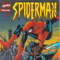 "Cómics: CÓMIC "" SPIDERMAN "" Nº 7 VOL.III MARVEL / FORUM 2000 (LOMO ROJO 84 PGS). Lote 227711730"