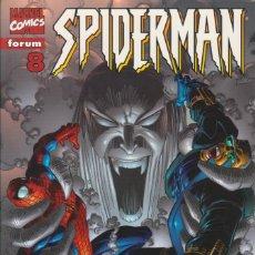 "Cómics: CÓMIC "" SPIDERMAN "" Nº 8 VOL.III MARVEL / FORUM 2000 (LOMO ROJO 84 PGS). Lote 227711850"