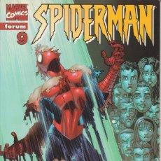 "Cómics: CÓMIC "" SPIDERMAN "" Nº 9 VOL.III MARVEL / FORUM 2000 (LOMO ROJO 84 PGS). Lote 227712305"