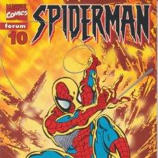 "Cómics: CÓMIC "" SPIDERMAN "" Nº 10 VOL.III MARVEL / FORUM 2000 (LOMO ROJO 84 PGS). Lote 227712455"