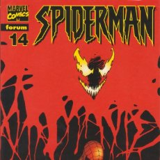 "Cómics: CÓMIC "" SPIDERMAN "" Nº 14 VOL.III MARVEL / FORUM 2000 (LOMO ROJO 84 PGS). Lote 227717435"