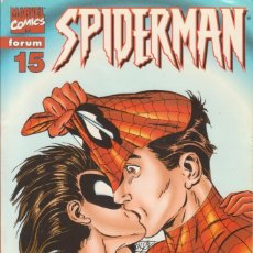 "Cómics: CÓMIC "" SPIDERMAN "" Nº 15 VOL.III MARVEL / FORUM 2000 (LOMO ROJO 84 PGS). Lote 227718467"