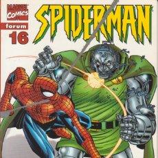 "Cómics: CÓMIC "" SPIDERMAN "" Nº 16 VOL.III MARVEL / FORUM 2000 (LOMO ROJO 84 PGS). Lote 227718780"