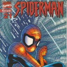 "Cómics: CÓMIC "" SPIDERMAN "" Nº 21 VOL.III MARVEL / FORUM 2001 (LOMO ROJO 84 PGS). Lote 227719400"
