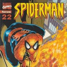 "Cómics: CÓMIC "" SPIDERMAN "" Nº 22 VOL.III MARVEL / FORUM 2001 (LOMO ROJO 84 PGS). Lote 227719520"