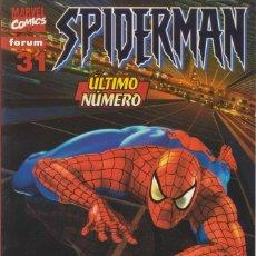 "Cómics: CÓMIC "" SPIDERMAN "" Nº 31 VOL.III MARVEL / FORUM 2002 (LOMO ROJO 84 PGS) ÚLTIMO. Lote 227722175"
