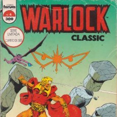 "Cómics: CÓMIC "" WARLOCK CLASSIC "" Nº 4 CUBIERTAS CARTÓN 48 PGS.MARVEL / FORUM 1995. Lote 227731425"