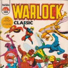 "Cómics: CÓMIC "" WARLOCK CLASSIC "" Nº 6 CUBIERTAS CARTÓN 48 PGS.MARVEL / FORUM 1995. Lote 227731650"