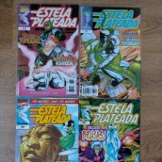 Cómics: LOTE 4 COMICS - ESTELA PLATEADA - FORUM. Lote 227818100