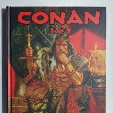Cómics: CONAN REY LA HORA DEL DRAGON - Nº UNICO (CARTONE) (PLANETA). Lote 284624903
