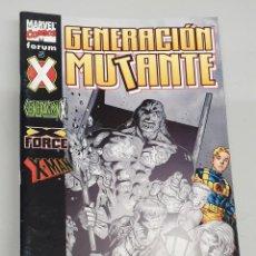 Comics: GENERACION MUTANTE Nº 5 - GENERACION X - X FORCE - X MAN / MARVEL - FORUM. Lote 227980761