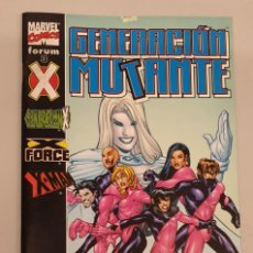 Comics: GENERACION MUTANTE Nº 3 - GENERACION X - X FORCE - X MAN / MARVEL - FORUM. Lote 227981010