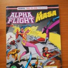 Cómics: ALPHA FLIGHT Nº 59 - LA MASA - MARVEL TWO-IN-ONE - FORUM (B1). Lote 228124995