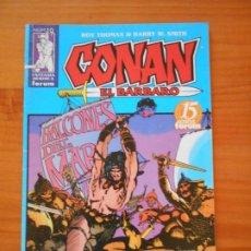 Comics: CONAN EL BARBARO - Nº 19 - FANTASIA HEROICA - FORUM - CON POSTER (IÑ). Lote 228181300